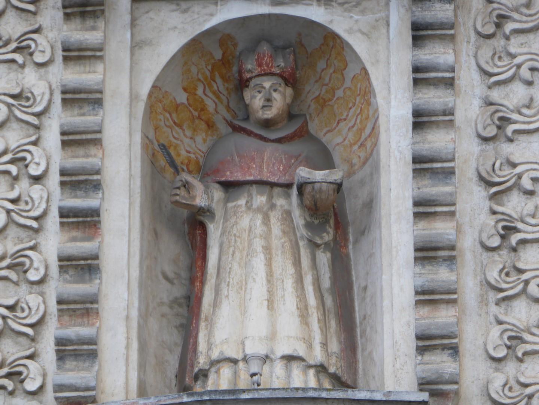 Statue in Quetzaltenango, Guatemala