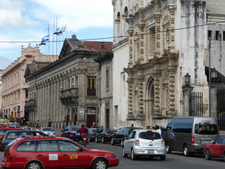 Street in Quetzaltenango, Guatemala