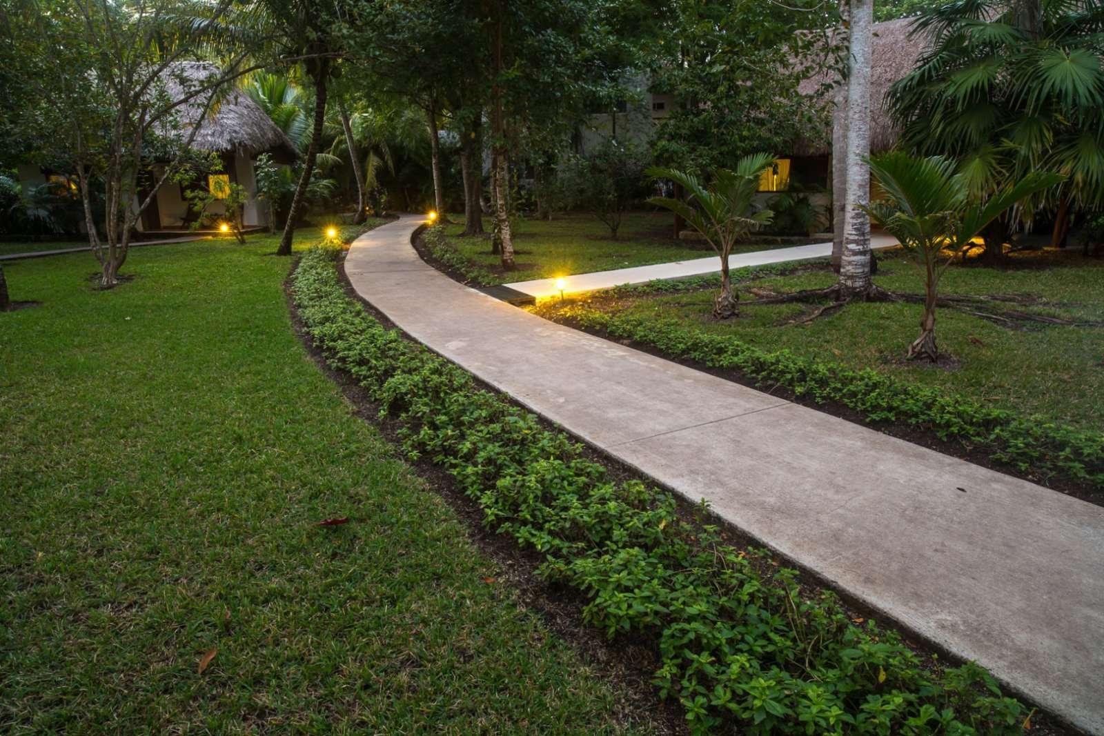 Pathway at Rancho Encantado Bacalar