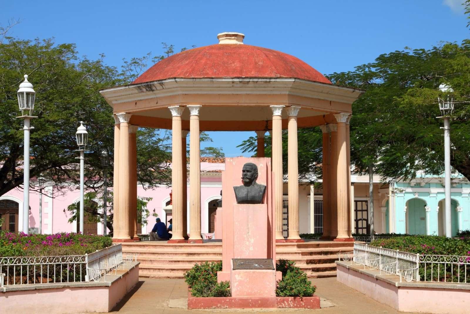 Bandstand in Remedios, Cuba