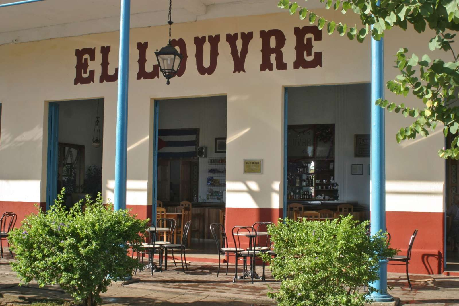 Famous El Louvre bar in Remedios Cuba