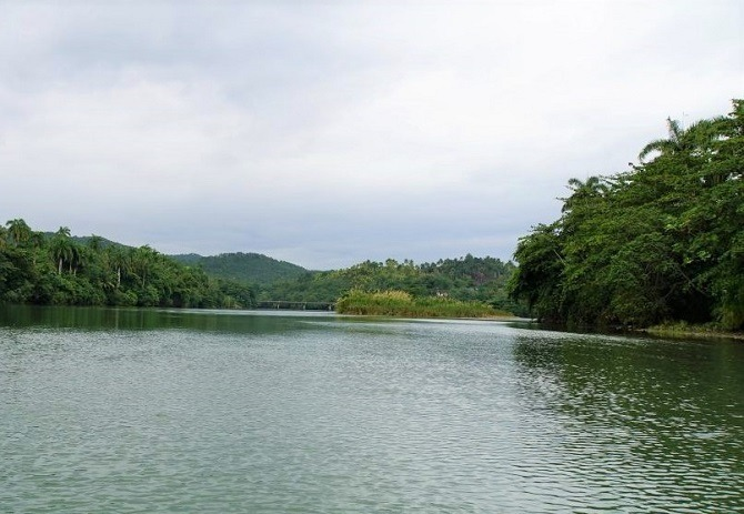 The River Toa in Baracoa