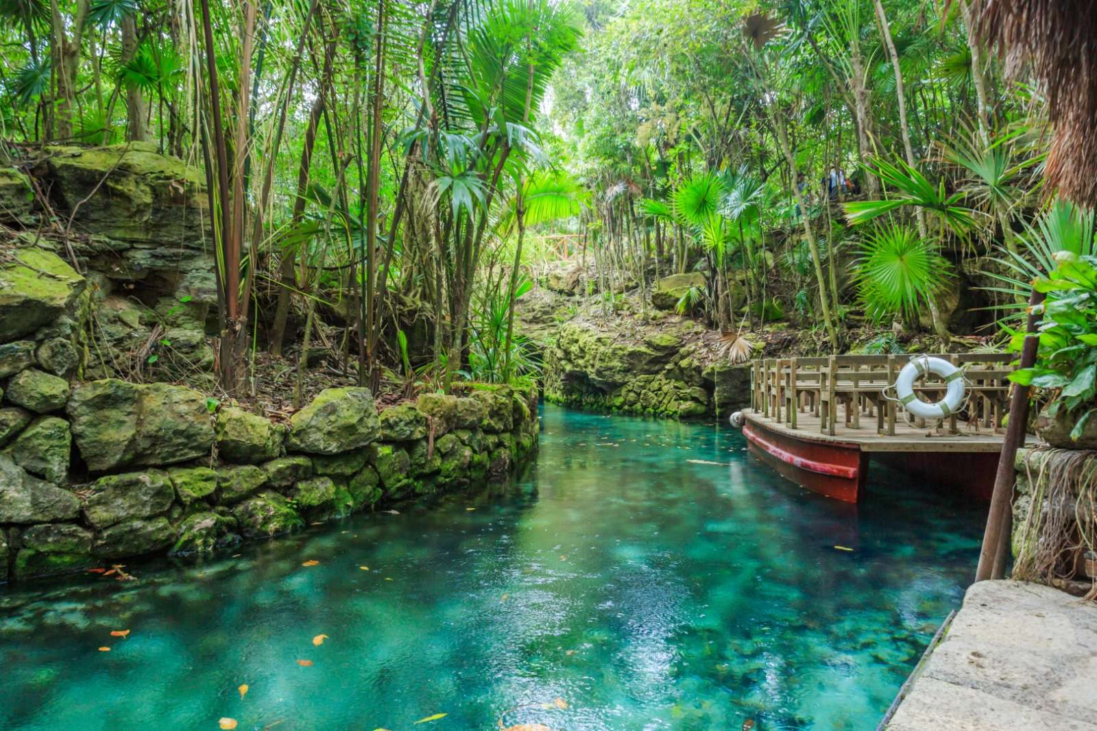 Xcaret in the Riviera Maya Mexico