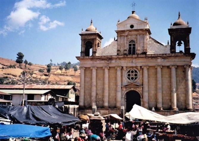 Market day in Sacapulcas Guatemala