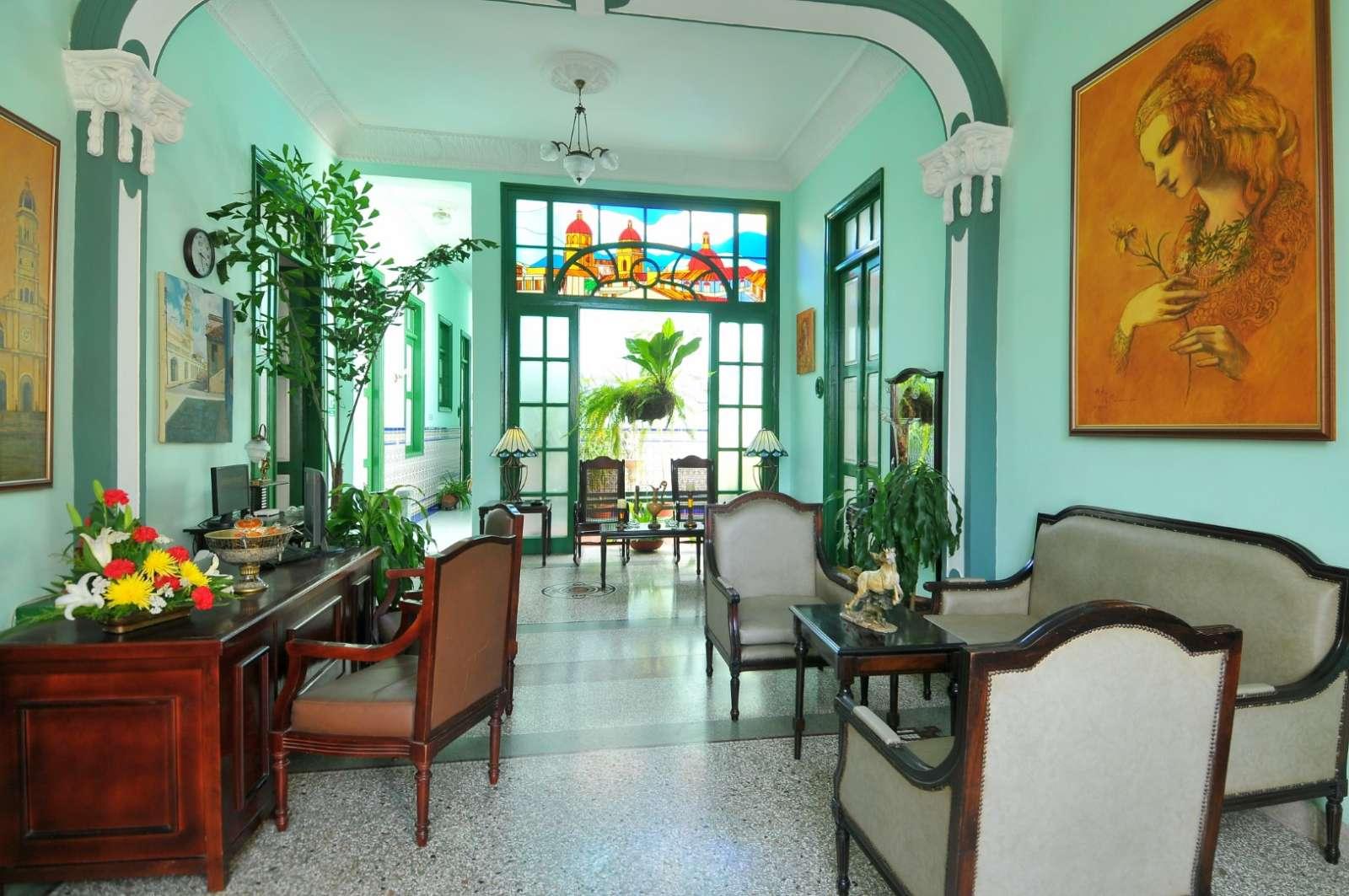 Lobby lounge at Hostal San Basilio