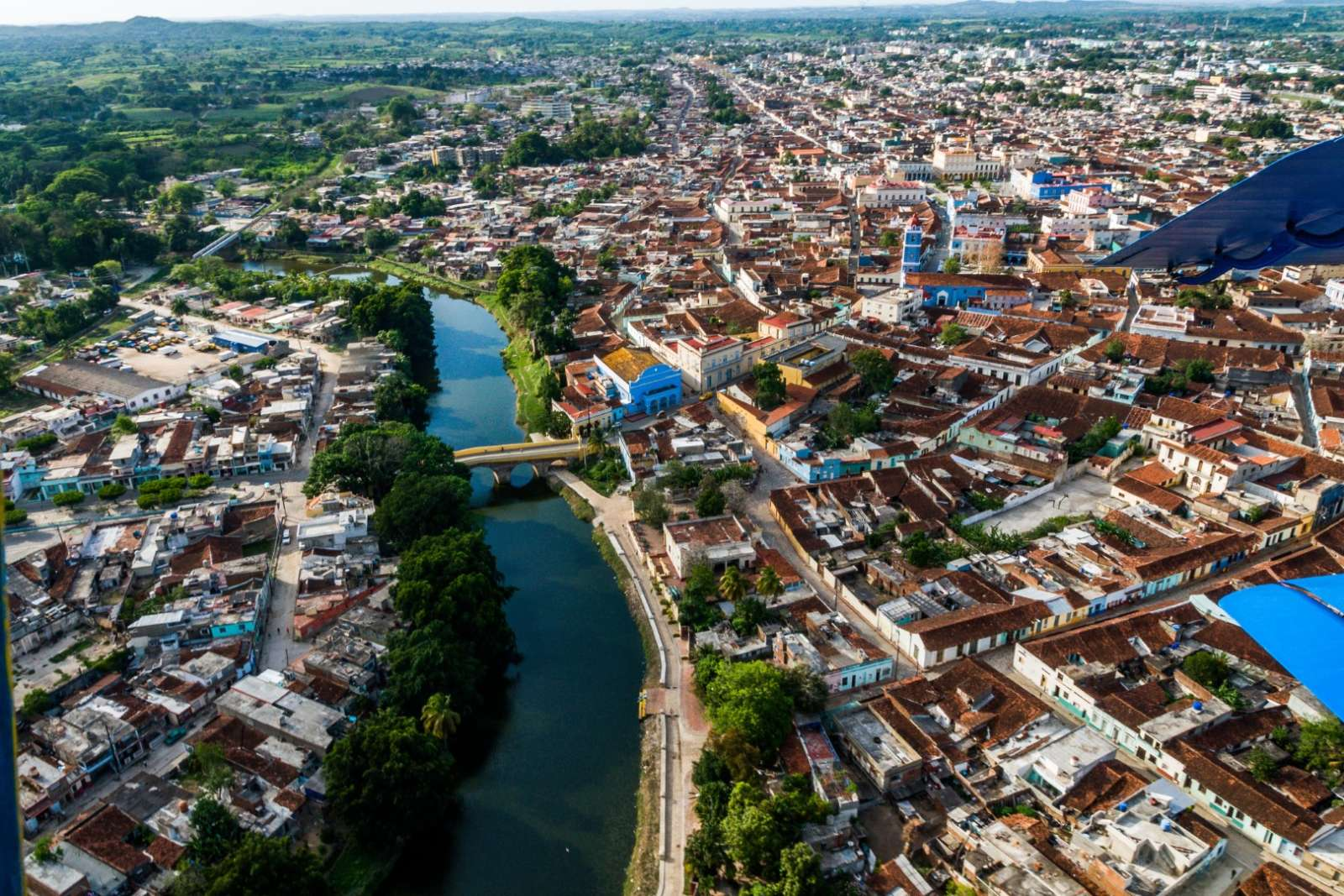 Aerial View Of Sancti Spiritus City, Cuba
