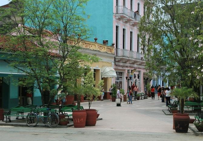 A street in Sancti Spiritus