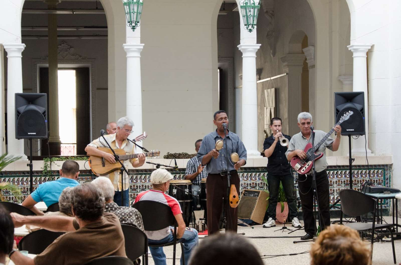 Live music in Santa Clara, Cuba