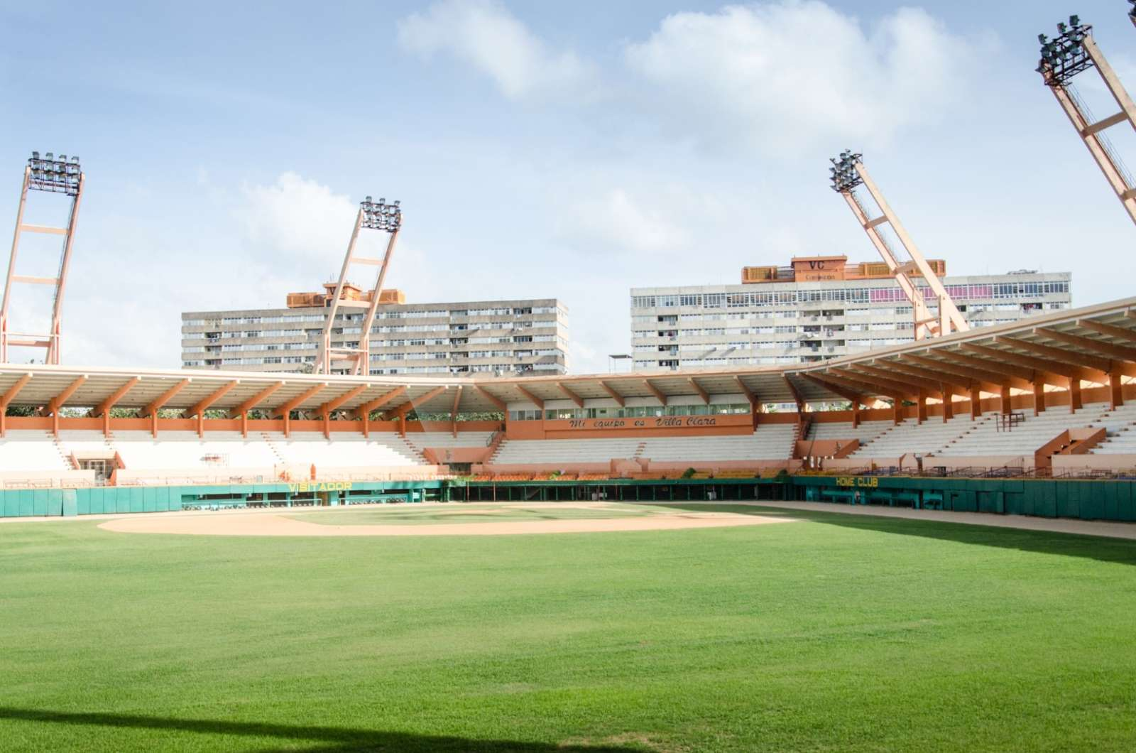 Baseball stadium in Santa Clara, Cuba