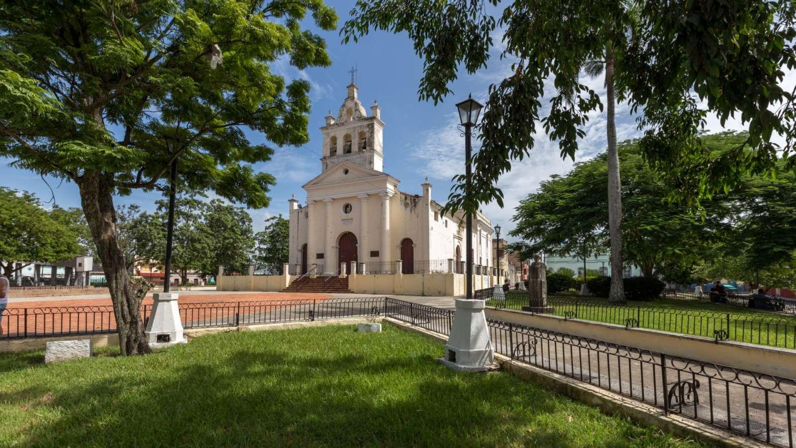 Iglesia Del Carmen In Santa Clara, Cuba