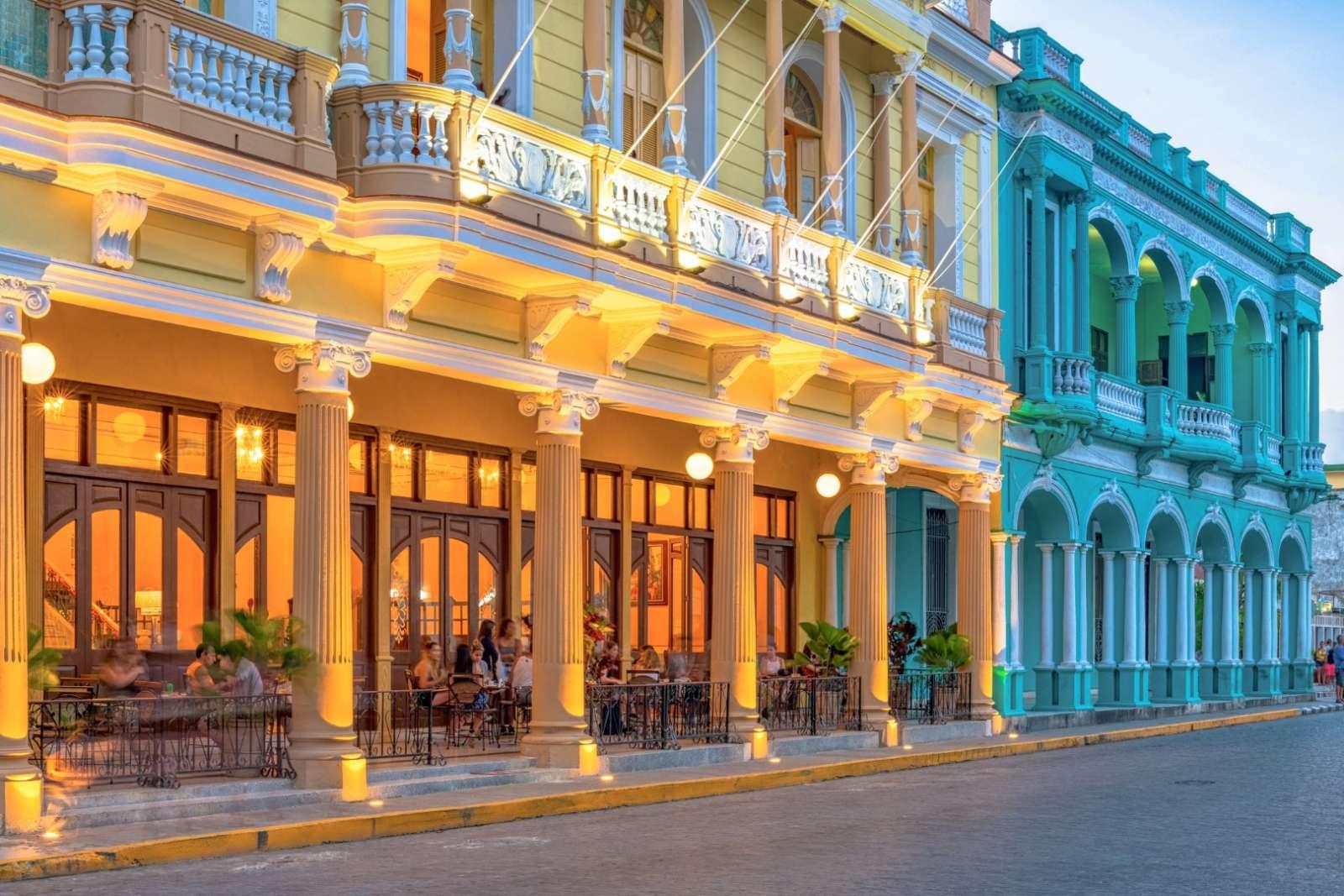 The Hotel Central in Santa Clara, Cuba