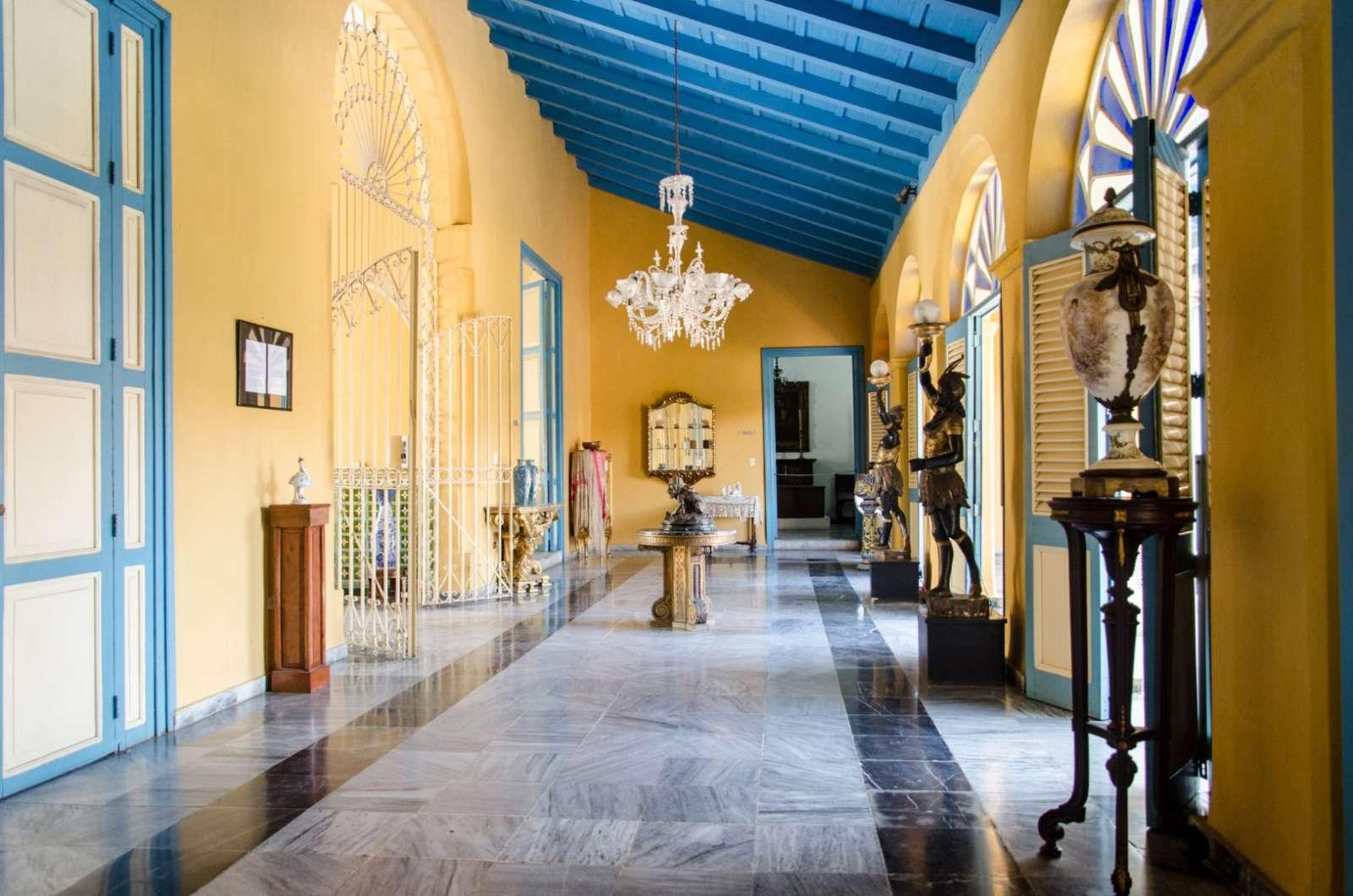 Santa Clara Cuba Museum Corridor