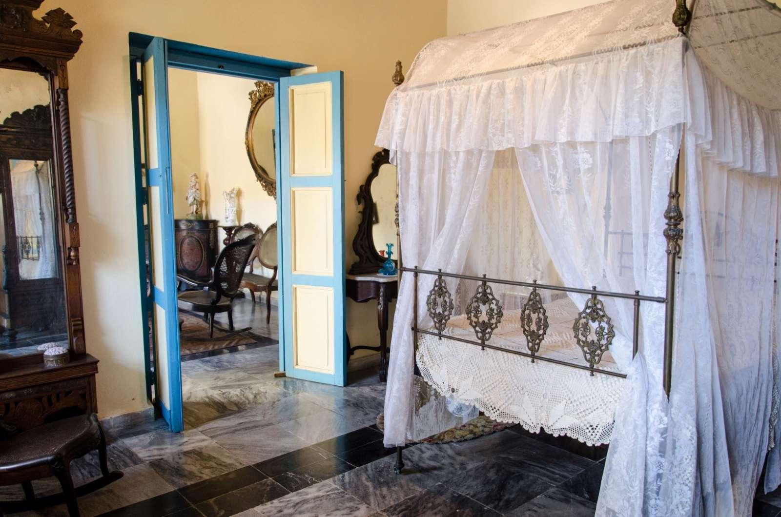 A room at the museum in Santa Clara, Cuba