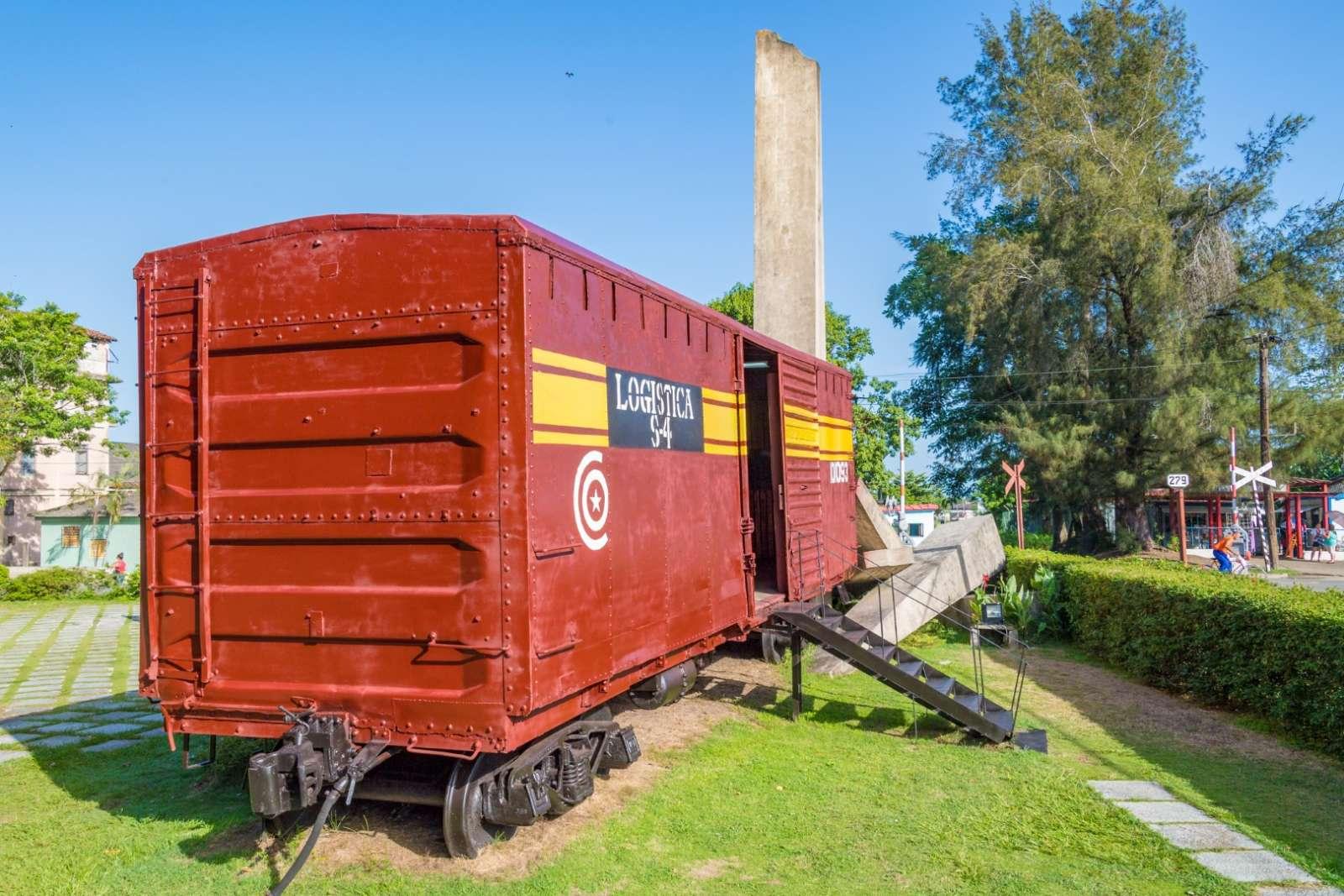 Museum Tren Blindado in Santa Clara, Cuba