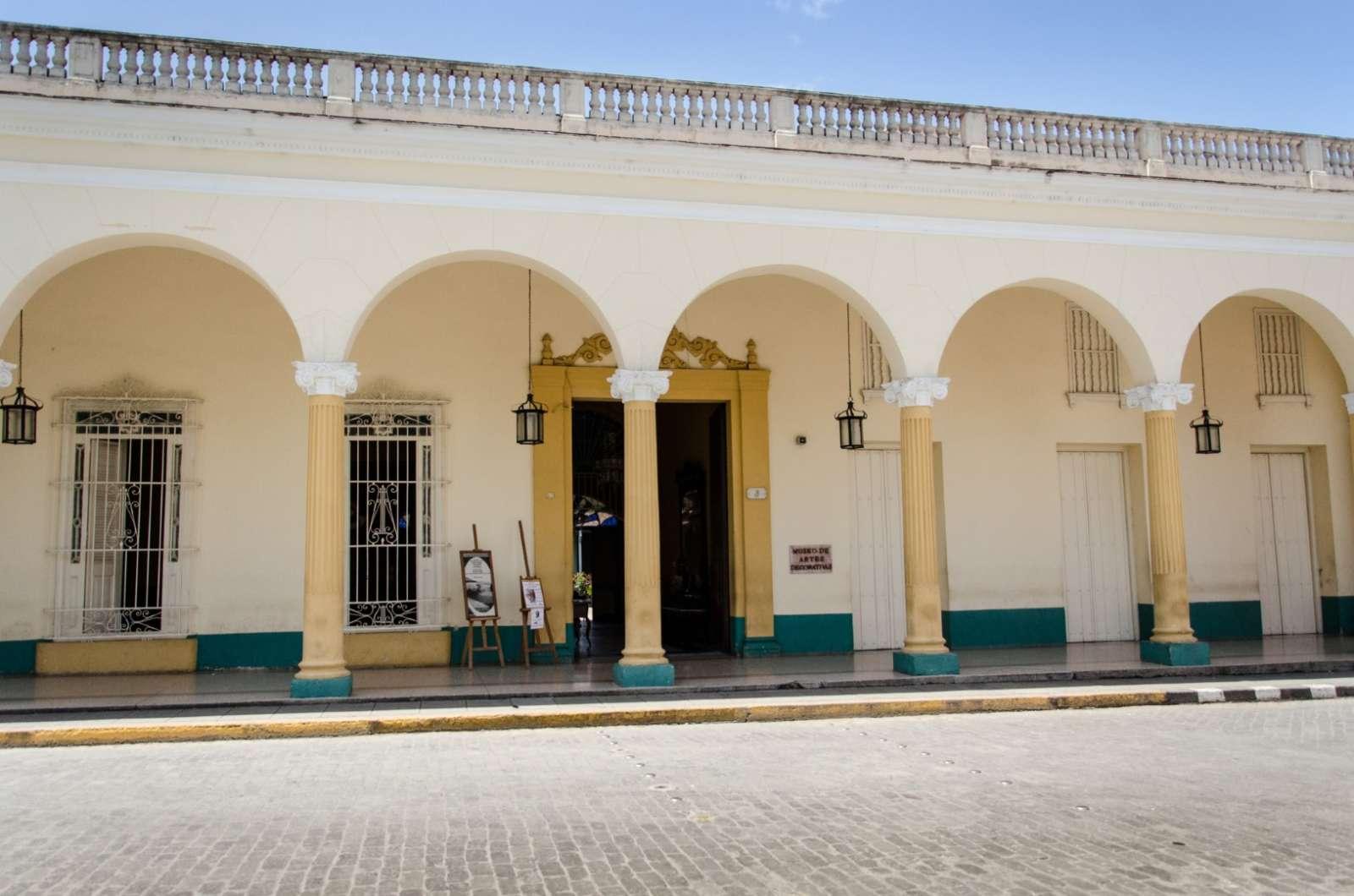 Museum of the Decorative Arts in Santa Clara, Cuba