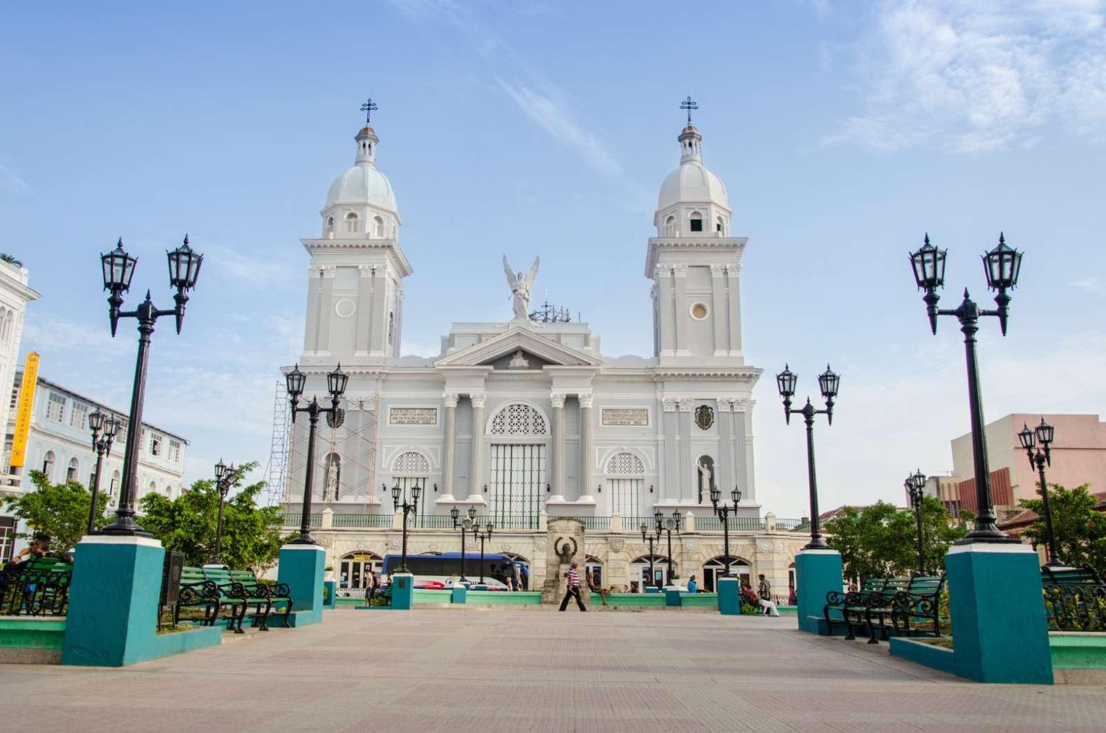 Santiago De Cuba Cuba Cathedral