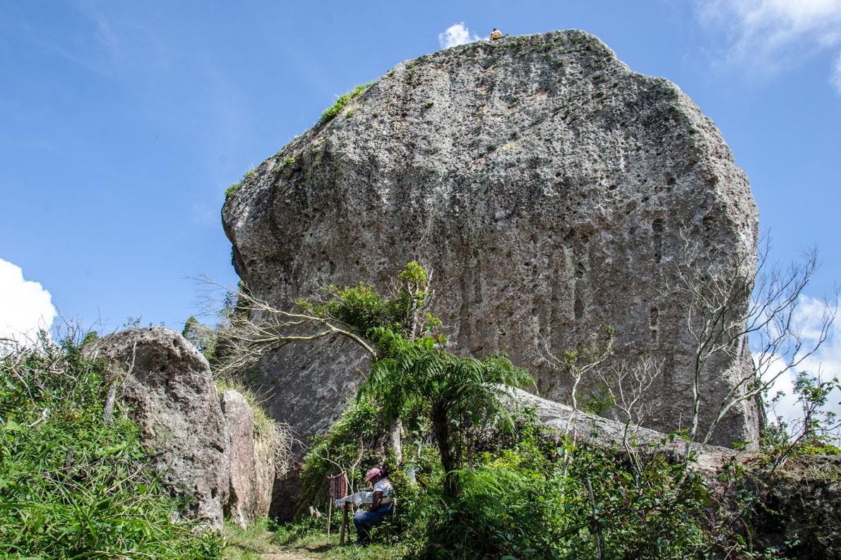 La Gran Piedra near Santiago de Cuba
