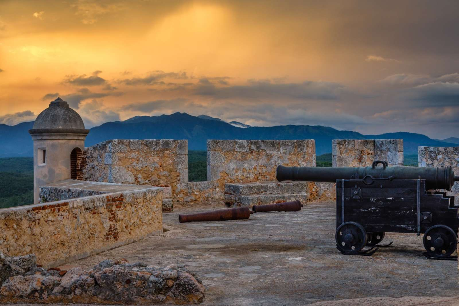 San Pedro De La Roca Fort outside Santiago de Cuba