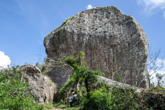 Trip to La Gran Piedra in Santiago de Cuba