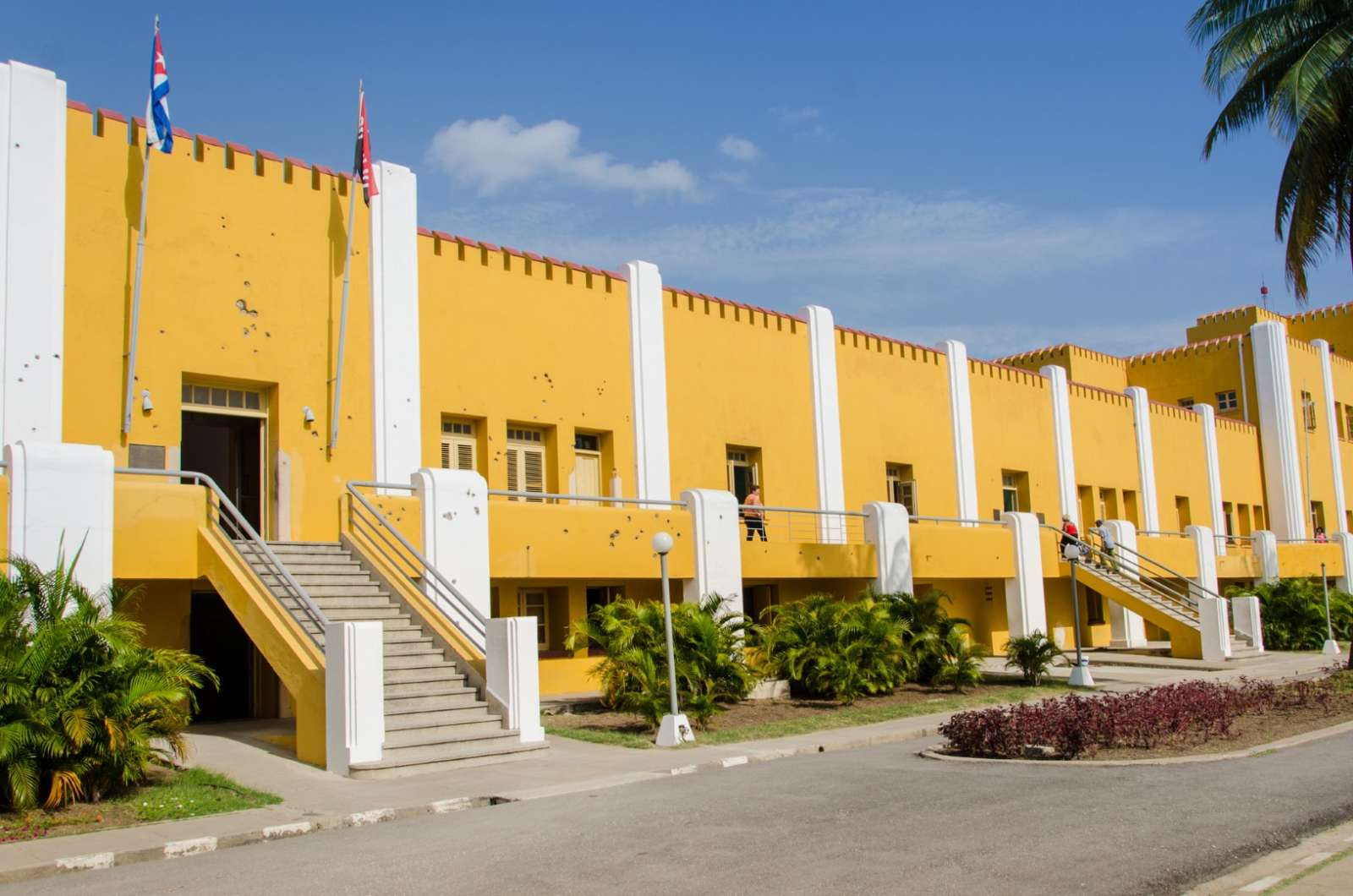 The Moncada Barracks Museum in Santiago de Cuba