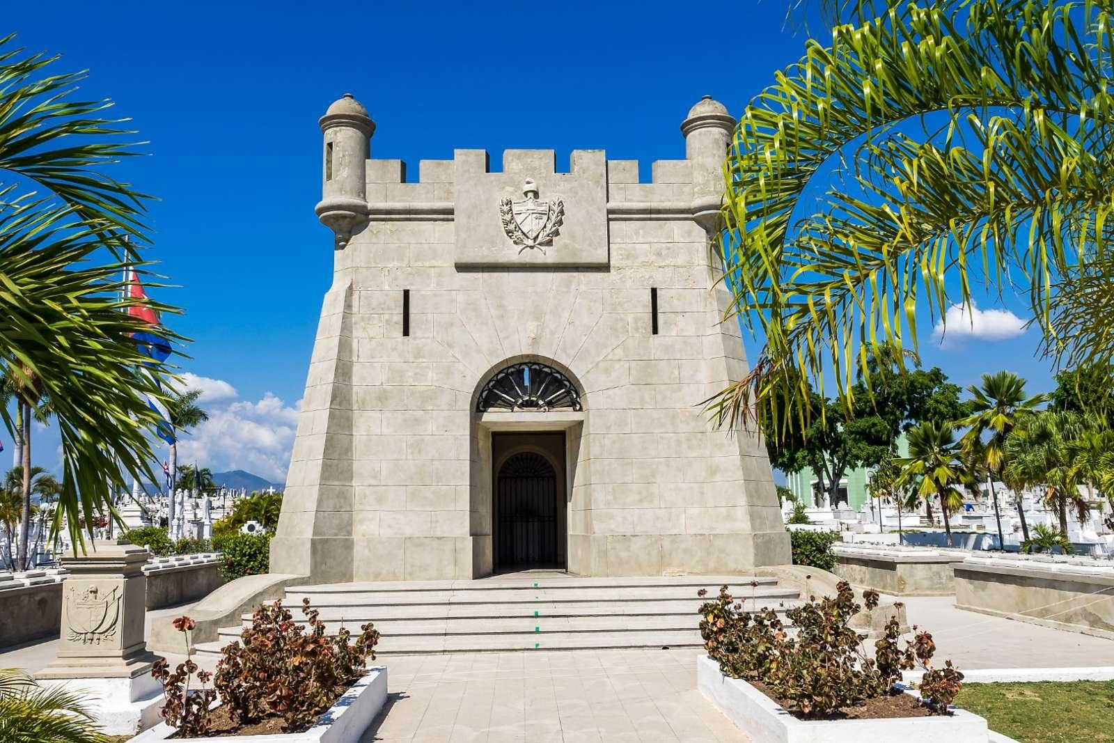 Santa Ifigenia cemetery in Santiago de Cuba
