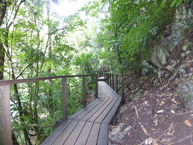 Walkway at Semuc Champey in Guatemala