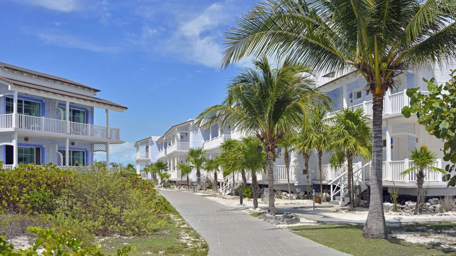 Accommodation block exterior at Sol Cayo Largo