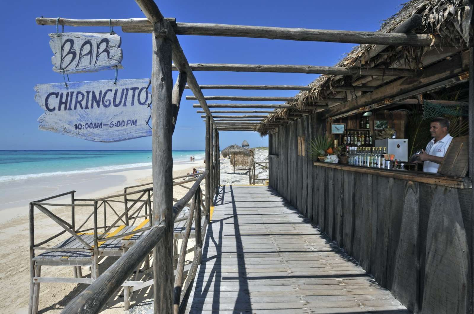 Beach bar at Sol Cayo Largo