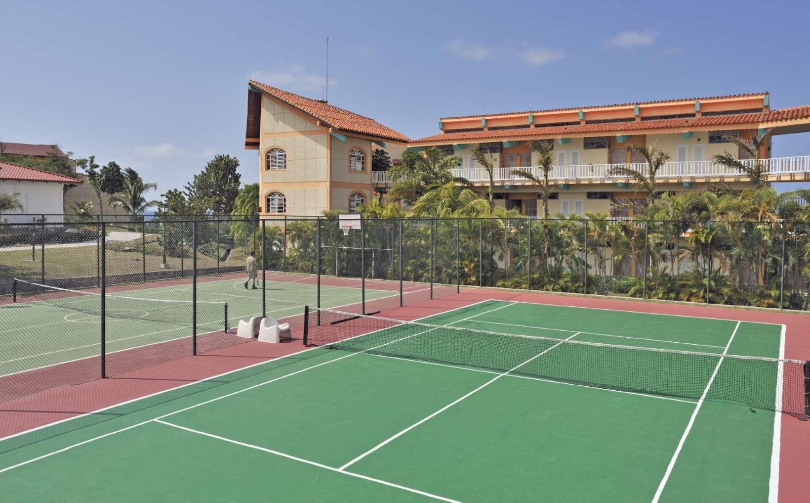 Tennis courts at Sol Rio De Luna Y Mares