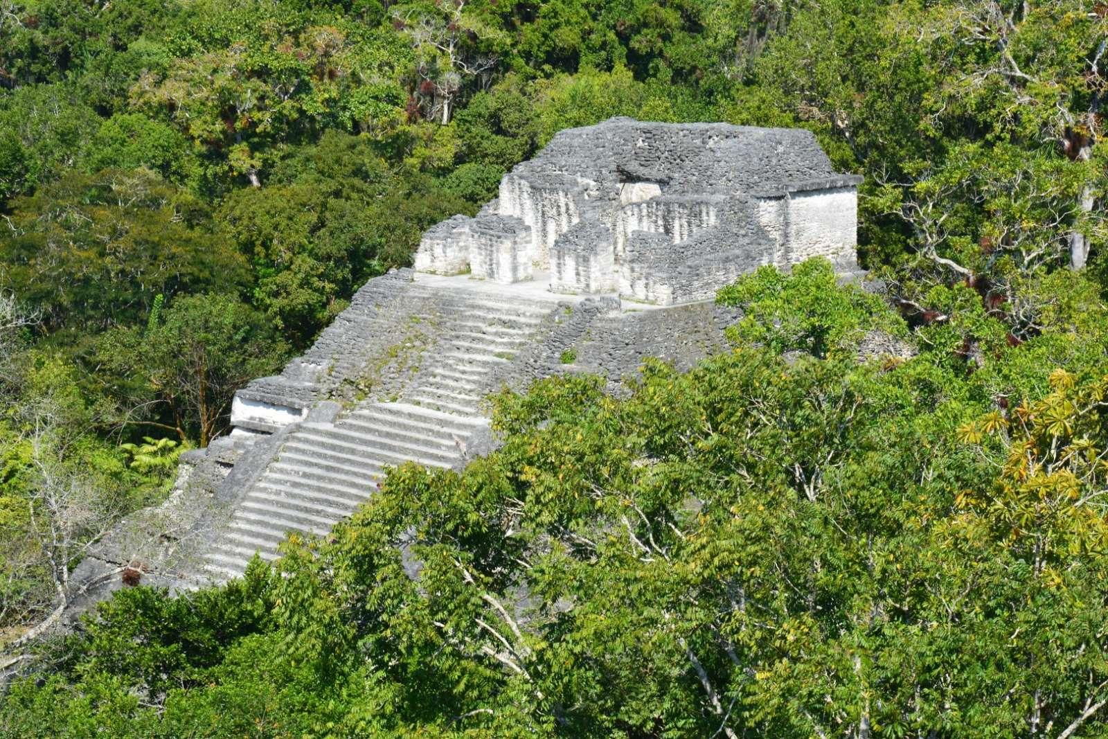 Mayan pyramid at Tikal, Guatemala