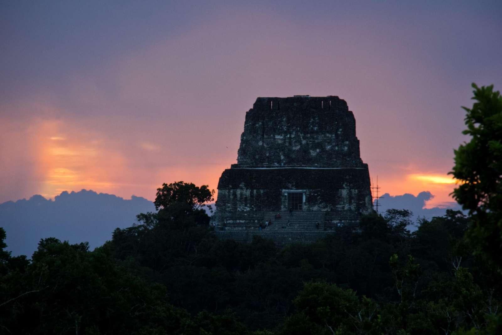 Tikal Guatemala Sunrise