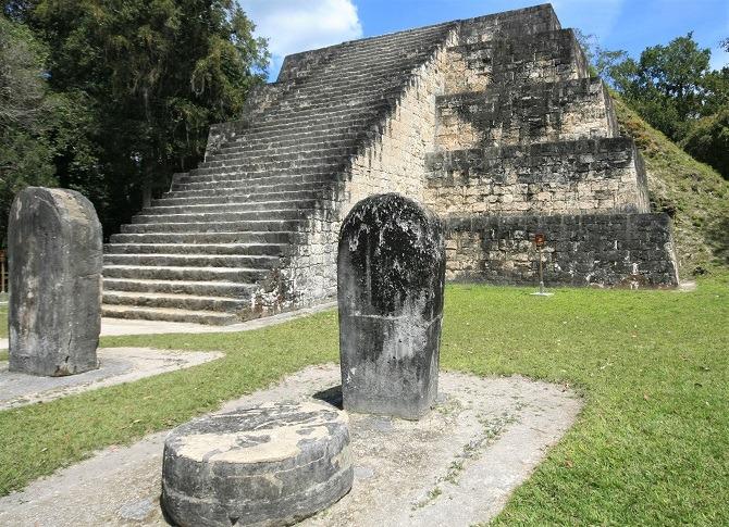 A small pyramid at Tikal