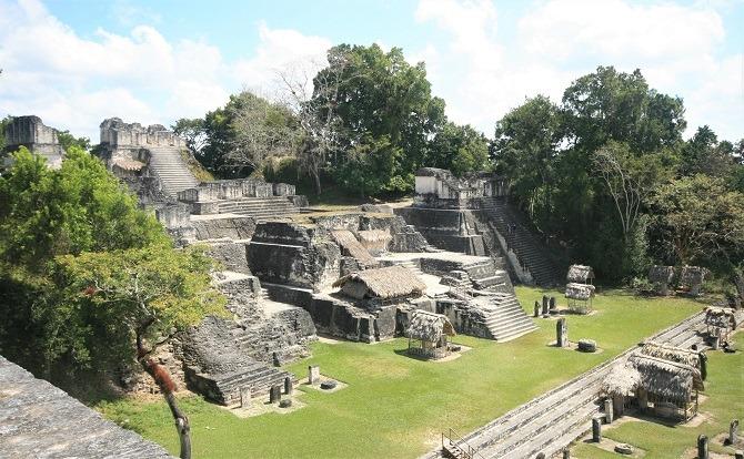 The Mayan site of Tikal in Guatemala