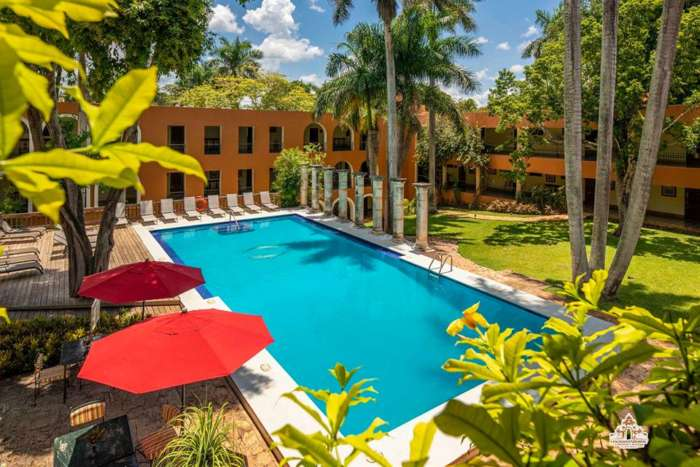 Tourist Class Hotel in Uxmal, Mexico