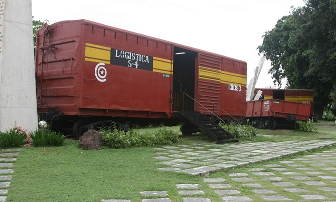 The Tren Blindado museum in Santa Clara, Cuba