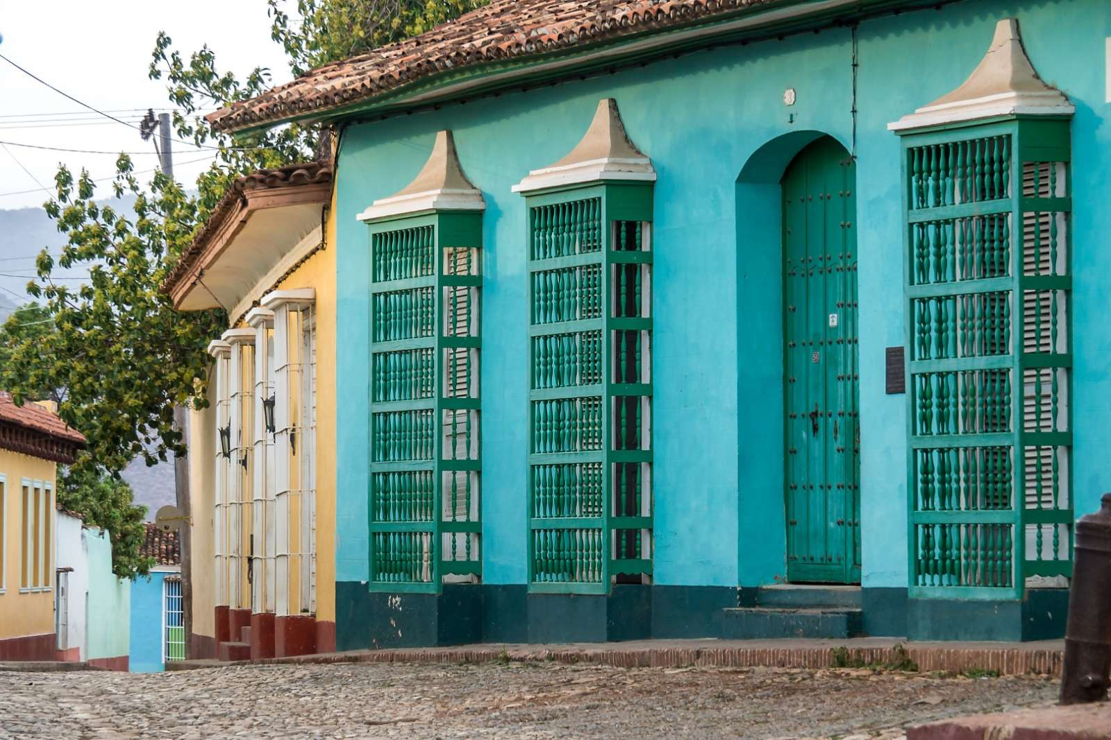Colourful house in Trinidad, Cuba