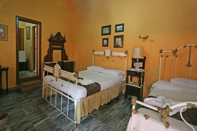 A bedroom at Casa Maria y Enddy in Trinidad, Cuba