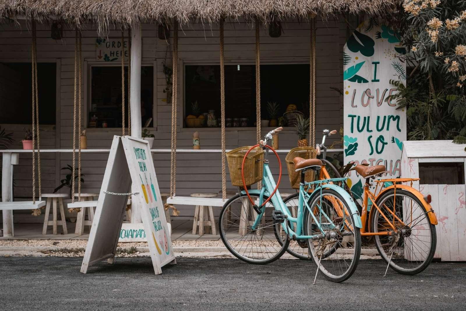 Bikes in Tulum puebla