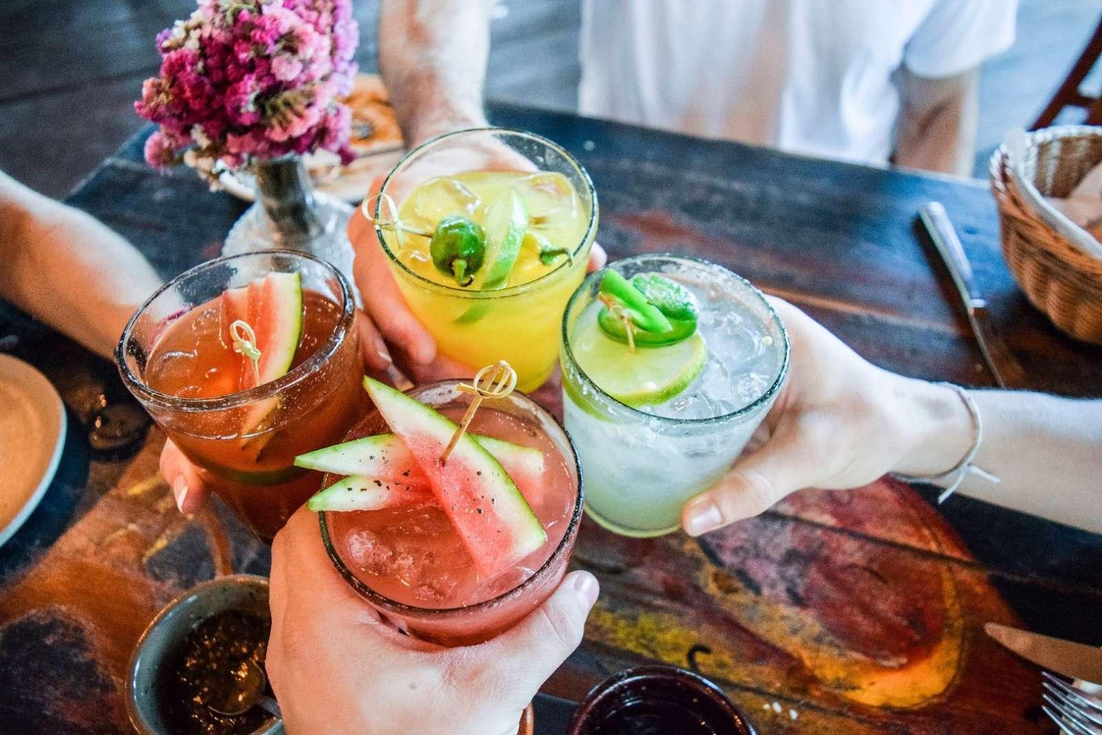 Tulum Mexico Cocktails