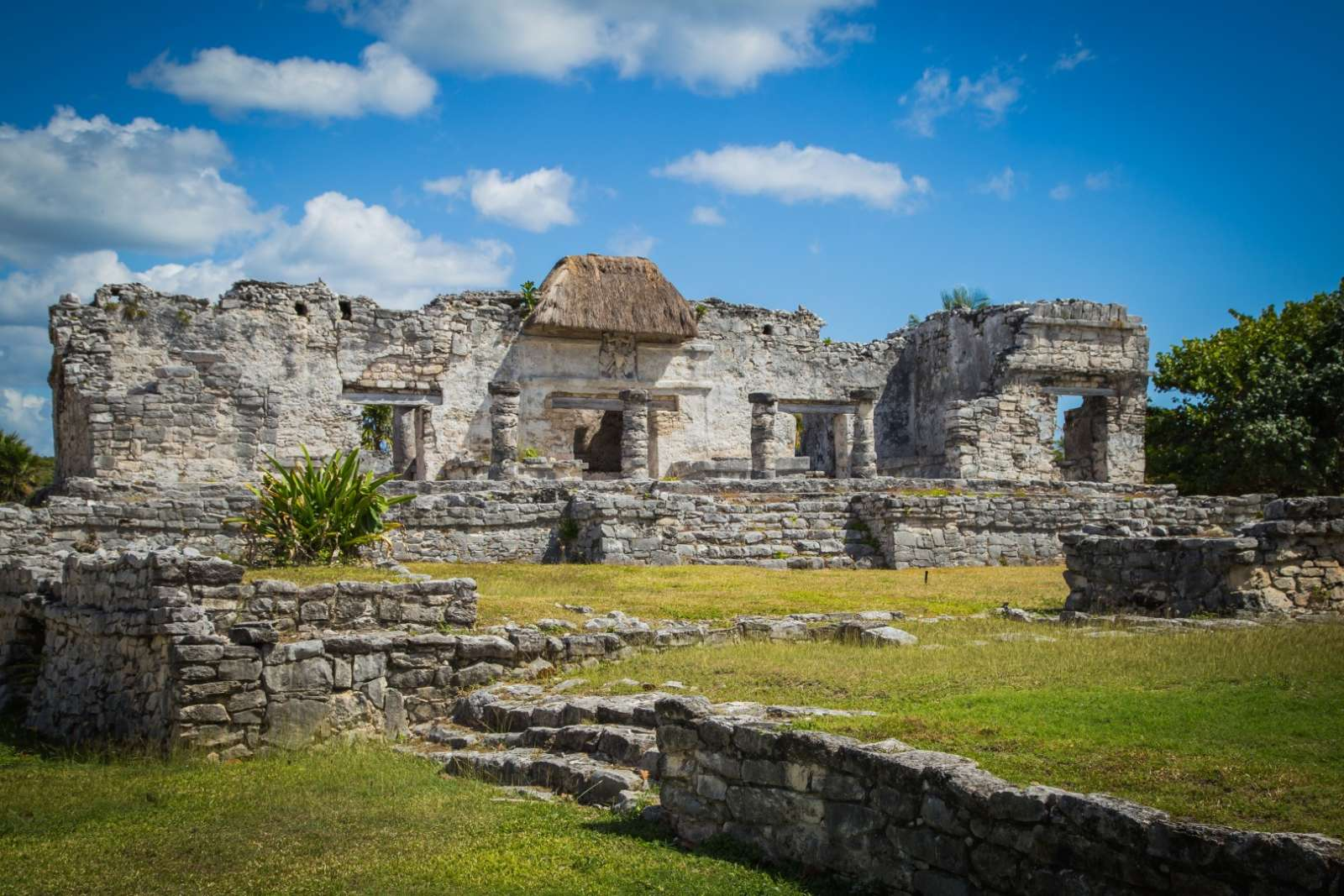 Mayan site at Tulum Mexico