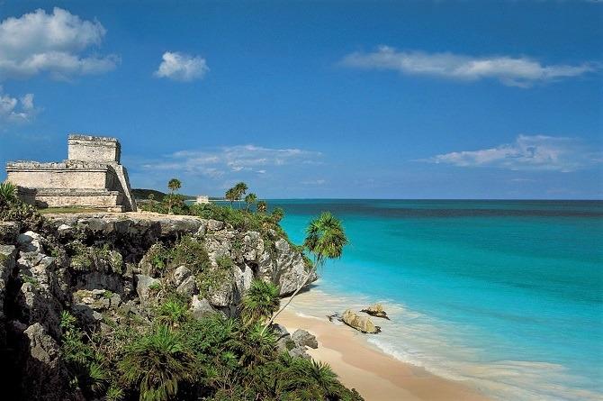 Tulum Mayan ruins Yucatan Peninsula