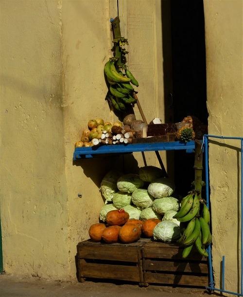 Market stall in Trinidad, Cuba