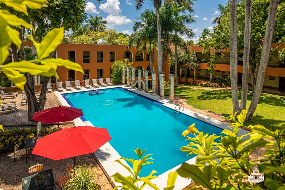 Accommodation in Uxmal