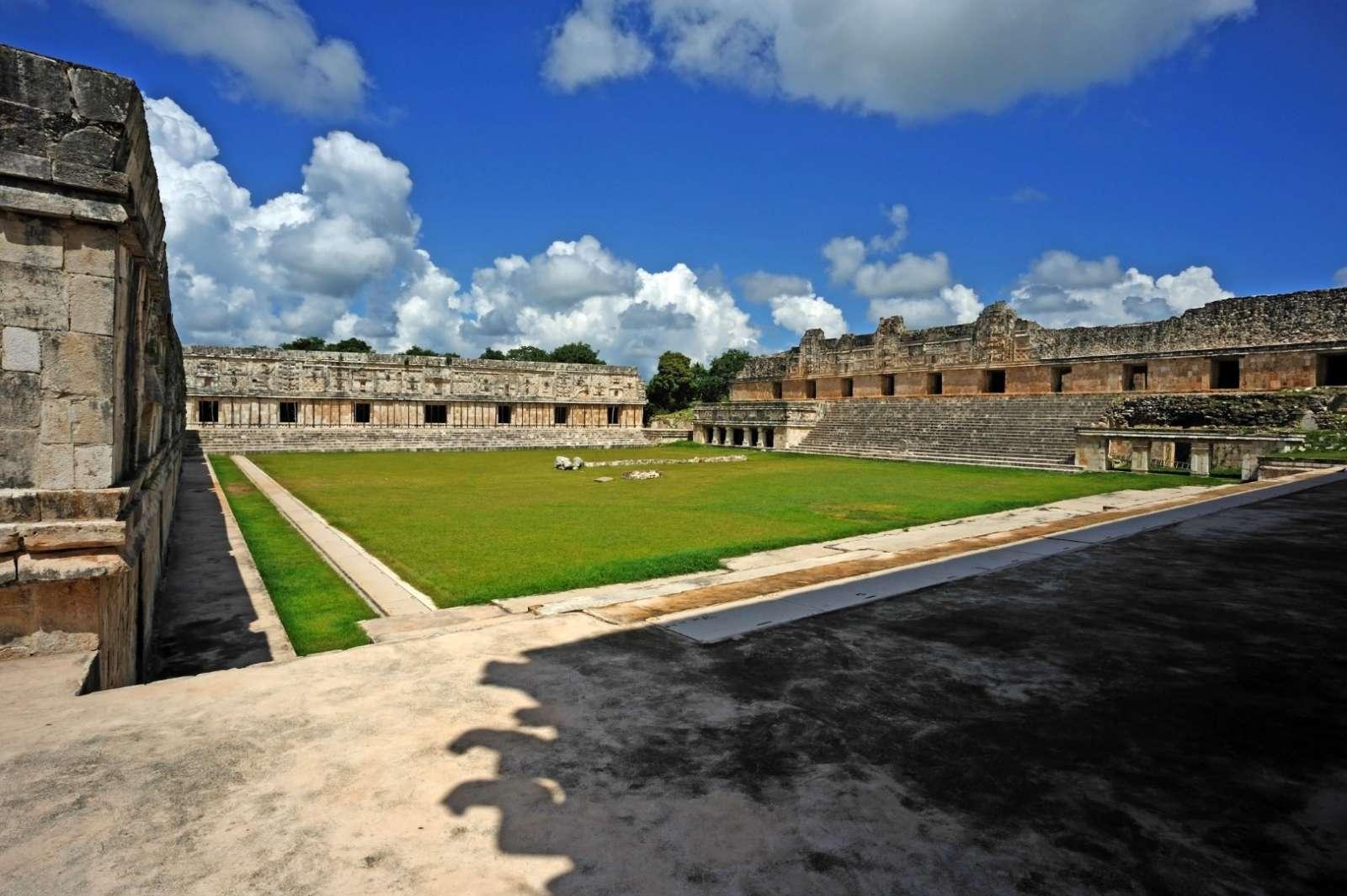 Large square at Uxmal, Mexico