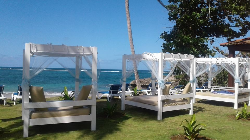 Daybeds at Villa Maguana
