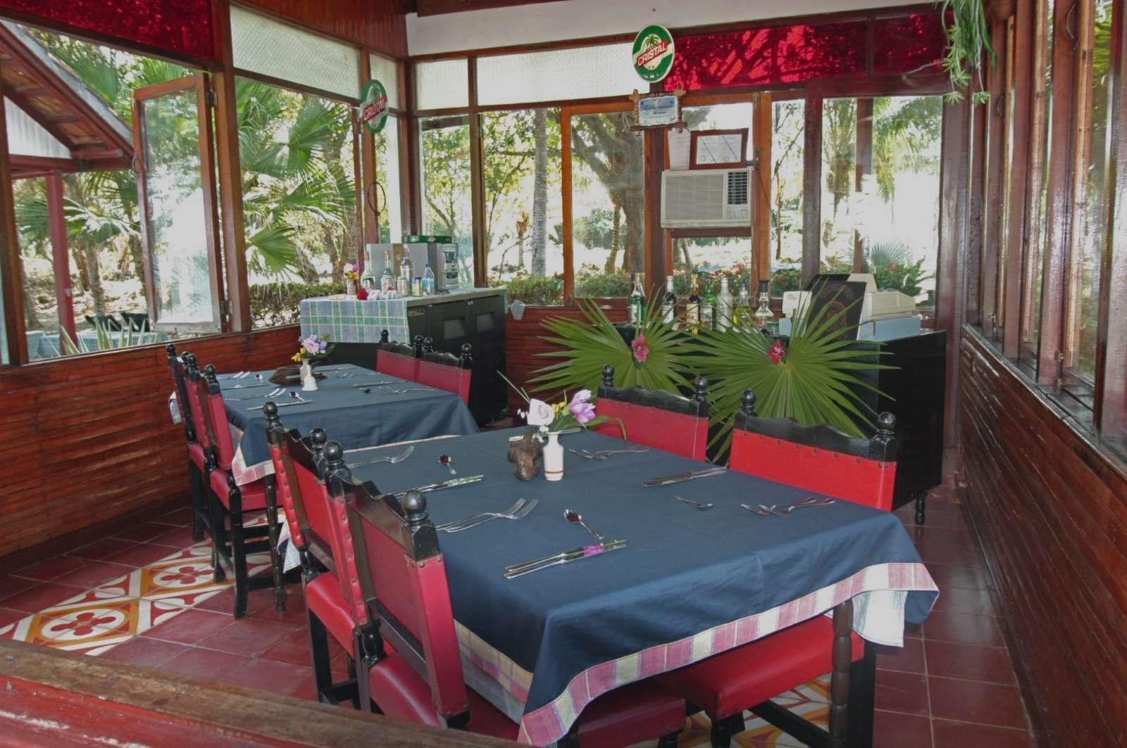 Restaurant at Villa Maguana