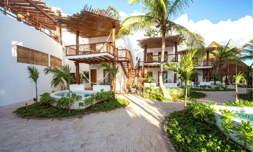 Accommodation at Balcony at Villas Hm Palapas Del Mar, Holbox