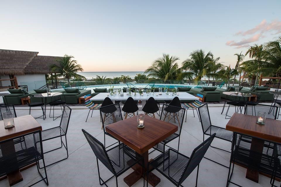 Bar at Balcony at Villas Hm Palapas Del Mar, Holbox