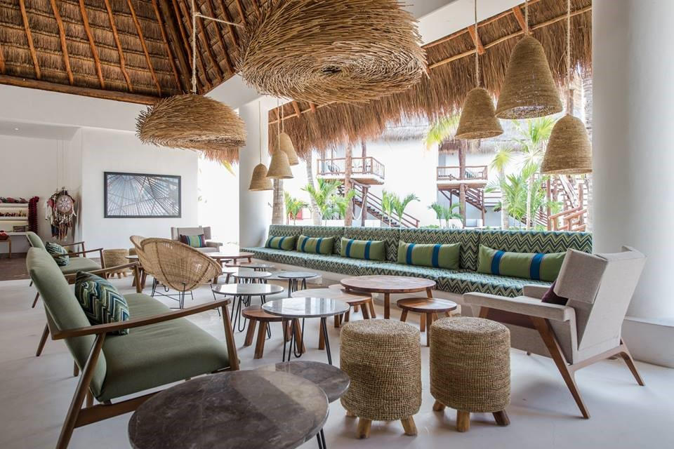 Lobby at Balcony at Villas Hm Palapas Del Mar, Holbox