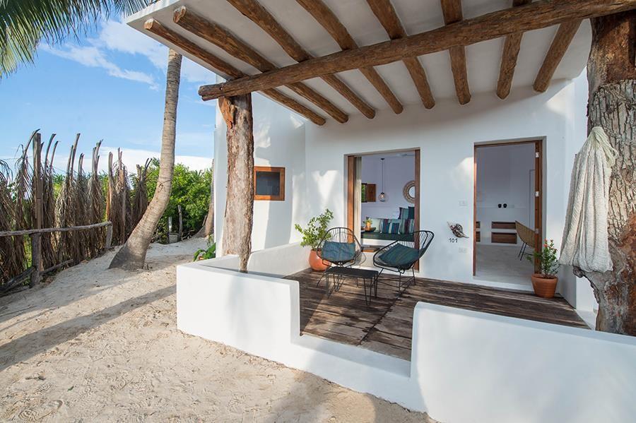 Room terrace at Balcony at Villas Hm Palapas Del Mar, Holbox